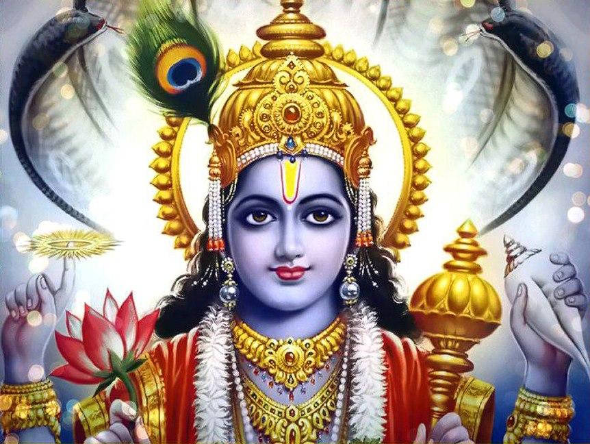 Vishnu Closeup