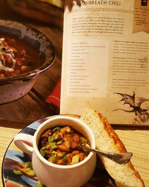 Cooking from World of Warcraft: Dragonbreath Chili – Mindful